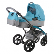 Knorr 3200-06 Voletto Happy Colour stroller-set blue-grey