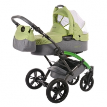 Knorr 3200-07 Voletto Happy Colour stroller-set blue-bright green