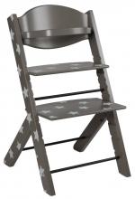 Treppy 2049 Gray Stars highchair
