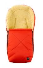Kaiser 65341-33 Emma Lammfellfußsäckchen für Babyschalen rot