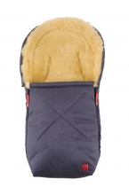 Kaiser Emma little lambskinfootmuff for baby carriers denim