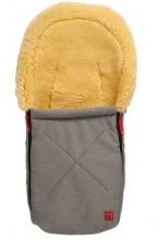 Kaiser 65341-73 Emma Lammfellfußsäckchen für Babyschalen grau melange