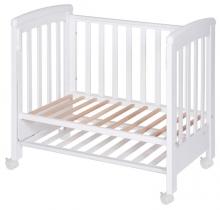 Treppy 1131 Dreamy Mini White baby bed 85 x 50cm