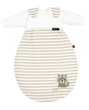 Alvi 423801246 Baby-Mäxchen® 3 tlg. Waschbär beige s.Oliver 56/62