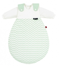 Alvi 423505663 Baby-Mäxchen® 3 tlg. Chevron Mint s.Oliver 50/56 Auslaufdesign