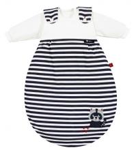 Alvi 423801248 Baby-Mäxchen® 3 tlg. Waschbär marine s.Oliver 56/62