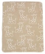 Alvi Giraffe beige 931741176 cotton baby blanket 75x100 2016/2017