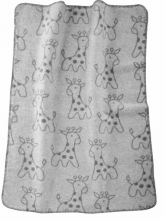 Alvi Giraffe grey 931741177 cotton baby blanket 75x100 2016/2017