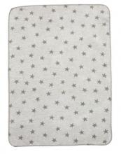 Alvi 931746087 Baumwolldecke Sterne grau 75x100 2016/2017