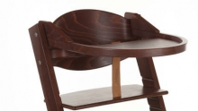 Playtray for Treppy 1013 walnut brown highchair