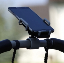 Baby Plus smartphone holding for strollers