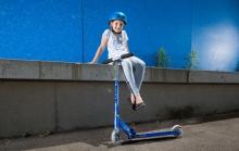 Micro SA 0084 Scooter sprite saphir blau