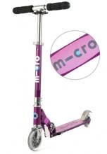 Micro SA 0137 Scooter sprite purple metallic mit Streifen