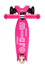 Micro MMD 021 Maxi Kickboard® deluxe with T-handle pink