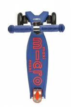 Micro MMD 023 Maxi Kickboard® deluxe with T-handle blue