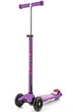 Micro MMD 025 Maxi Kickboard® deluxe with T-handle purple
