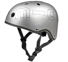 Micro AC 4509 Helm Gr. M (53-58cm) silber metallic