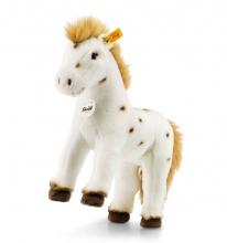 Steiff 071287 Spotty Pferd 30 weiß/braun stehend