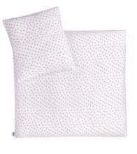 Zöllner Bettwäsche Jersey Herzchen pink 80x80cm