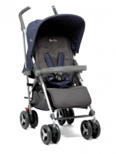Silver Cross Reflex Buggy Vintage Blue