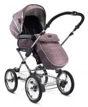 Silver Cross Sleepover Kinderwagen all inclusive Premium Set Maulbeere