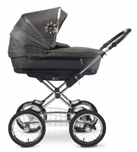 Silver Cross Sleepover stroller all inclusive premium set black