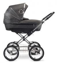 Silver Cross Sleepover Kinderwagen all inclusive Premium Set schwarz