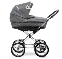 Silver Cross Sleepover stroller all inclusive premium set grey