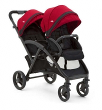 Joie Evalite Duo double stroller cherry