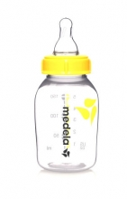 Medela 200.0597 milk bottle 150ml with teat S (slow flow)