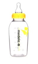 Medela 200.1658 milk bottle 250ml with teat M (medium flow)