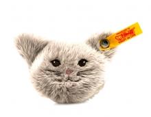 Steiff 109232 Magnet Katze 6 grau