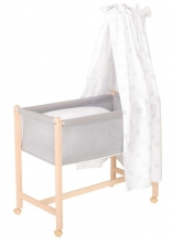 Geuther 1117 NA 166 bassinet Jasmin natural canopy dandelion