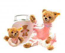 Steiff 240997 Geschenkset Schlaf Gut Bär 20 rosa