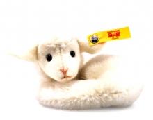 Steiff 033575 mini Lamby lamb 9 Alpaca white