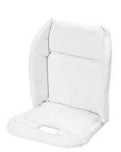 Brevi 207001 Kunststoffeinlage/Sitzverkleinerer für Hochstuhl Slex Evo