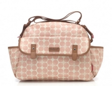 Babymel BM 9212 Molly diaper bag Floral Dot pink