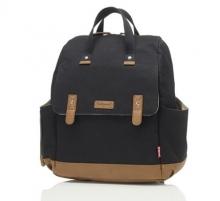 Babymel BM 9182 Robyn diaper backpack black