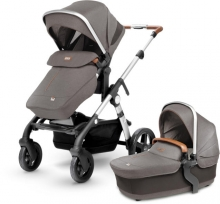 Silver Cross Wave starter pack grey - sable incl. carrycot, seat etc.