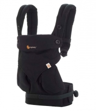 Ergobaby Komforttrage 360 Collection Pure Black