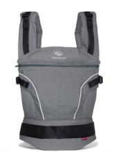 Manduca baby carrier manduca PureCotton dark grey
