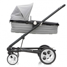 Seed Papilio carrycot incl. softcase, canopy and blanket grey melange