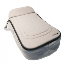 Seed 94148 Papilio foot cover for seat and winterfootmuff grey melange