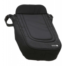 Seed 94117 Papilio foot cover for seat and winterfootmuff black