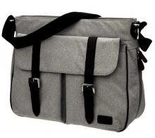 Seed Companion diaper bag grey melange