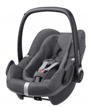 Maxi-Cosi Pebble Plus Sparkling Grey (i-size)