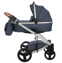 Knorr 2356-2 K-One Script stroller set blue