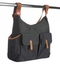 Babymel BM 7966 Frankie diaper bag tweed grey