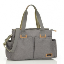 Storksak Shoulder Bag grey