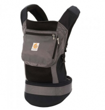 Ergobaby Komforttrage Performance Collection Charcoal Black